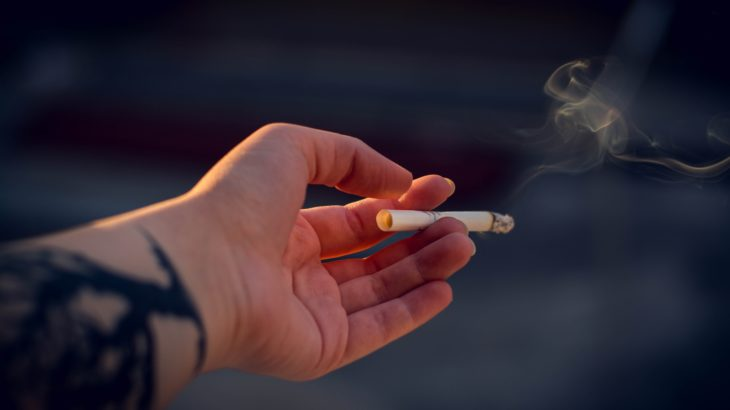 生活の隣にいつもある。そのタバコが支えなの。
